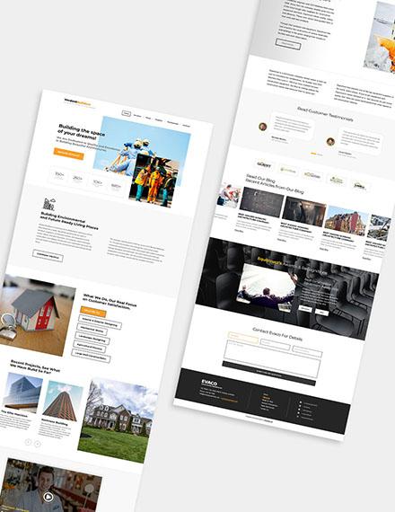 Builder Wordpress Theme Format