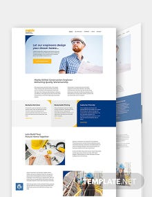 Engineers WordPress Theme/Template