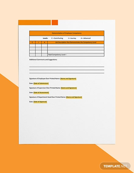 Employee Competency Download