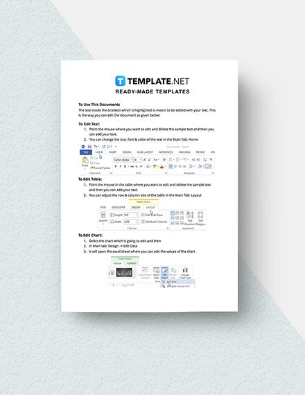 Employee Availability Form Instruction