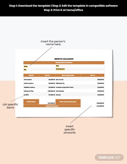 Vacation Pay Calculator Template download