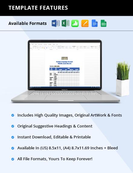 Free Employee Relations Tracker Printable