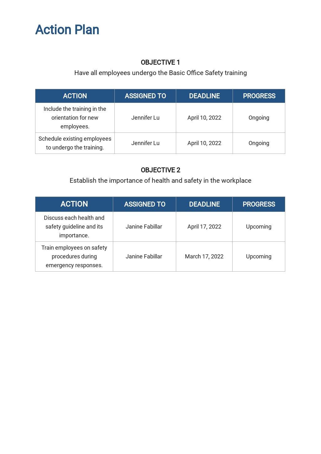 Free Sample Training Plan Template 4.jpe