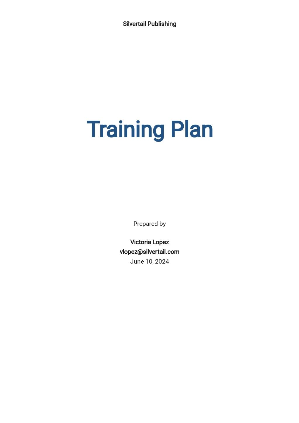 Free Sample Training Plan Template.jpe