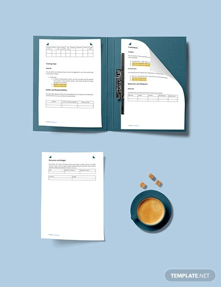 Sample Training Plan Custom