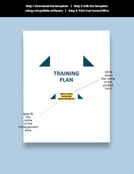 Sample Training Plan Download