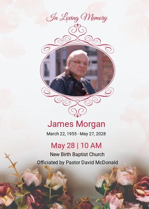 Free Catholic Funeral Invitation Template.jpe