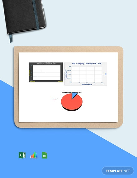 FTE Calculation Dashboard Template