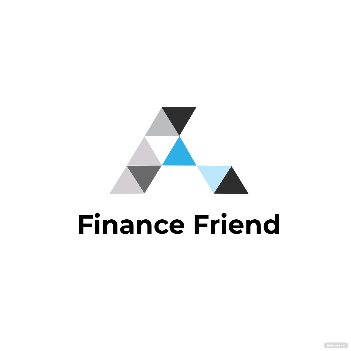 Finance Consultant Logo Template