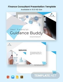 Finance Consultant Presentation Template