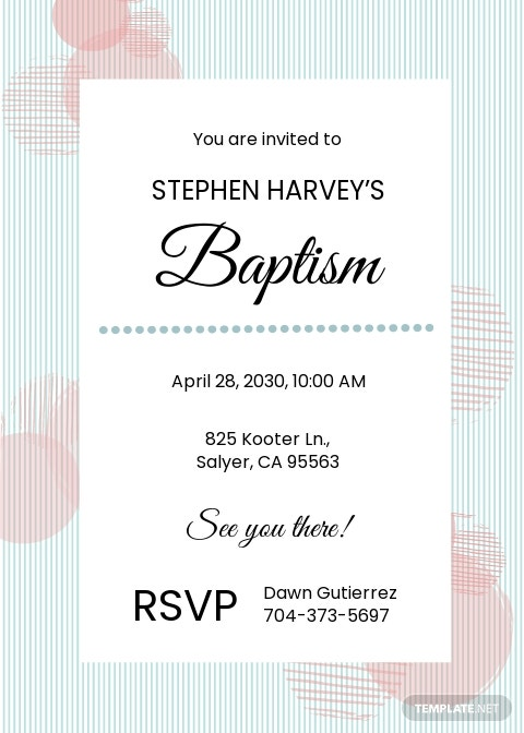 Free Sample Baptism Invitation Template.jpe