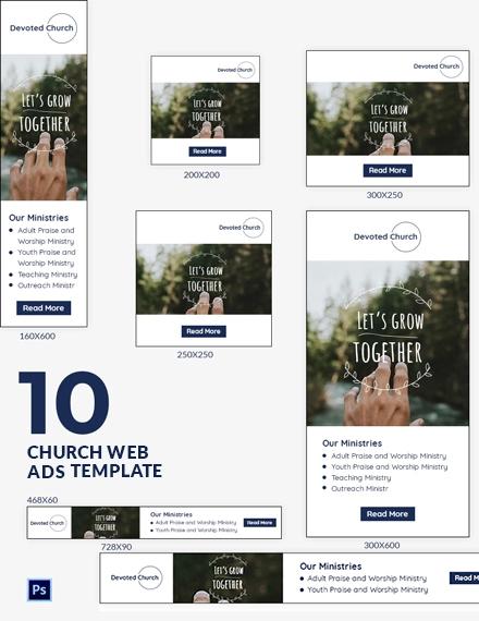 Church Web Ads
