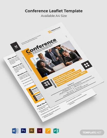 Conference Leaflet Template