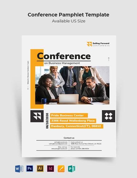 Conference Pamphlet