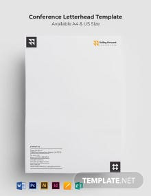 Conference Letterhead Template