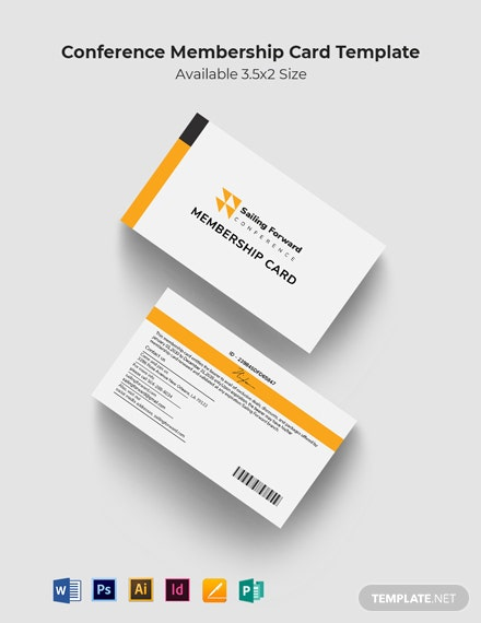 Conference Membership Card