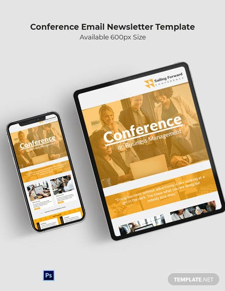 Conference Email Newsletter Template