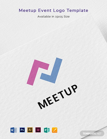 Meetup Event Logo Template