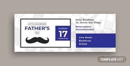 Father's Day Facebook Event Cover