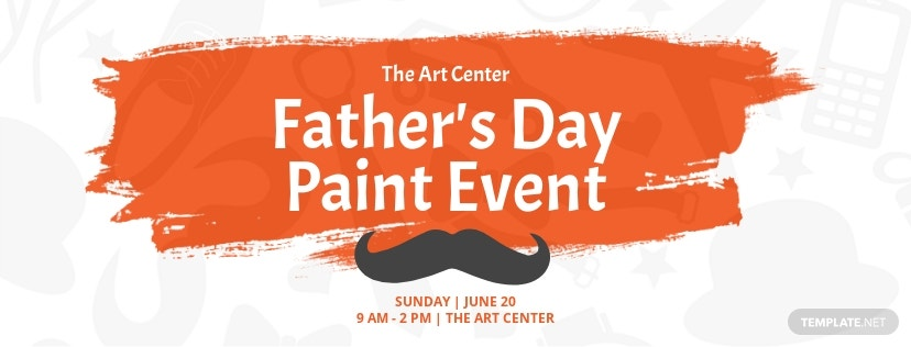 Free Father's Day Facebook Event Cover