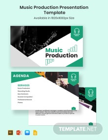 Music Production Presentation Template