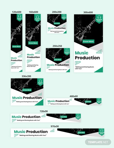 Music Production Web Ads