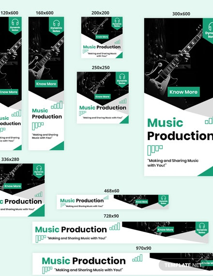 Music Production Web Ads Dowload