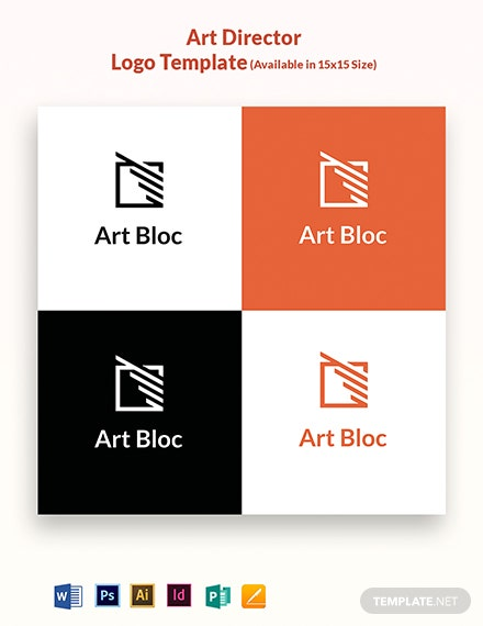 Art Director Logo Template