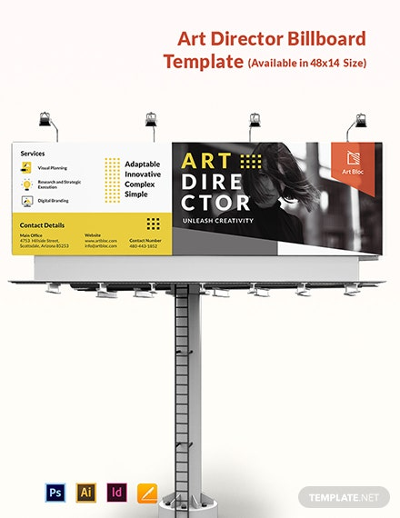 Art Director Billboard Template
