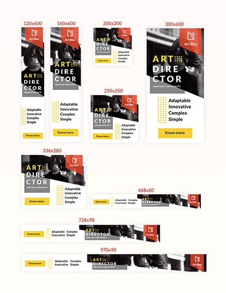 Art Director Web Ad Download