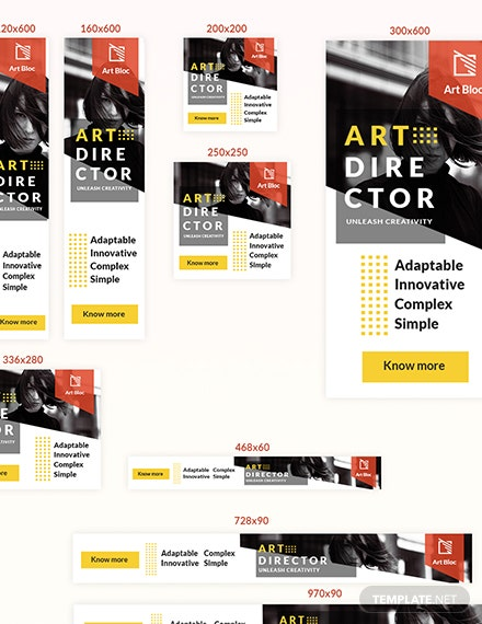 Sample Art Director Web Ad