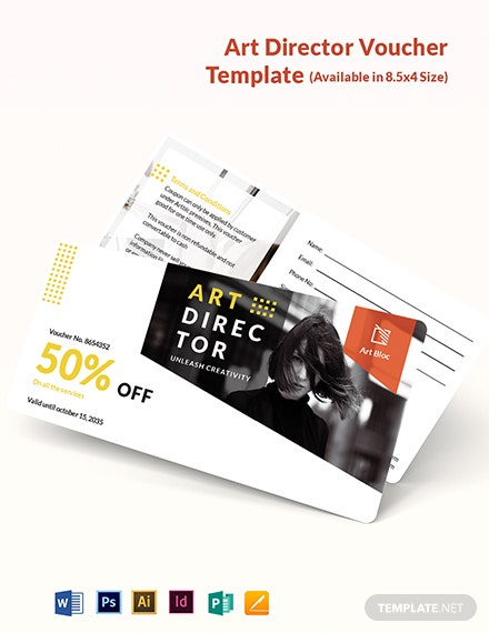 Art Director Voucher Template