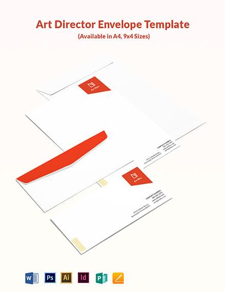 Art Director Envelope Template