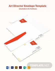 Art Director Envelope Template