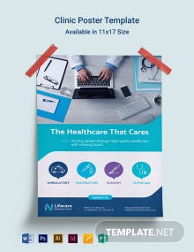 Clinic Poster Template