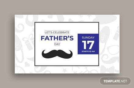 Free Father's Day Google Plus Cover Template