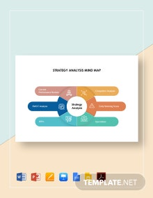 Strategy Analysis Mind Map Template