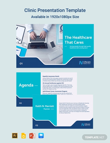 Clinic Presentation Template