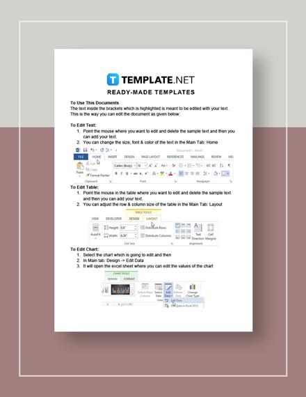 School Feasibility Report Instruction
