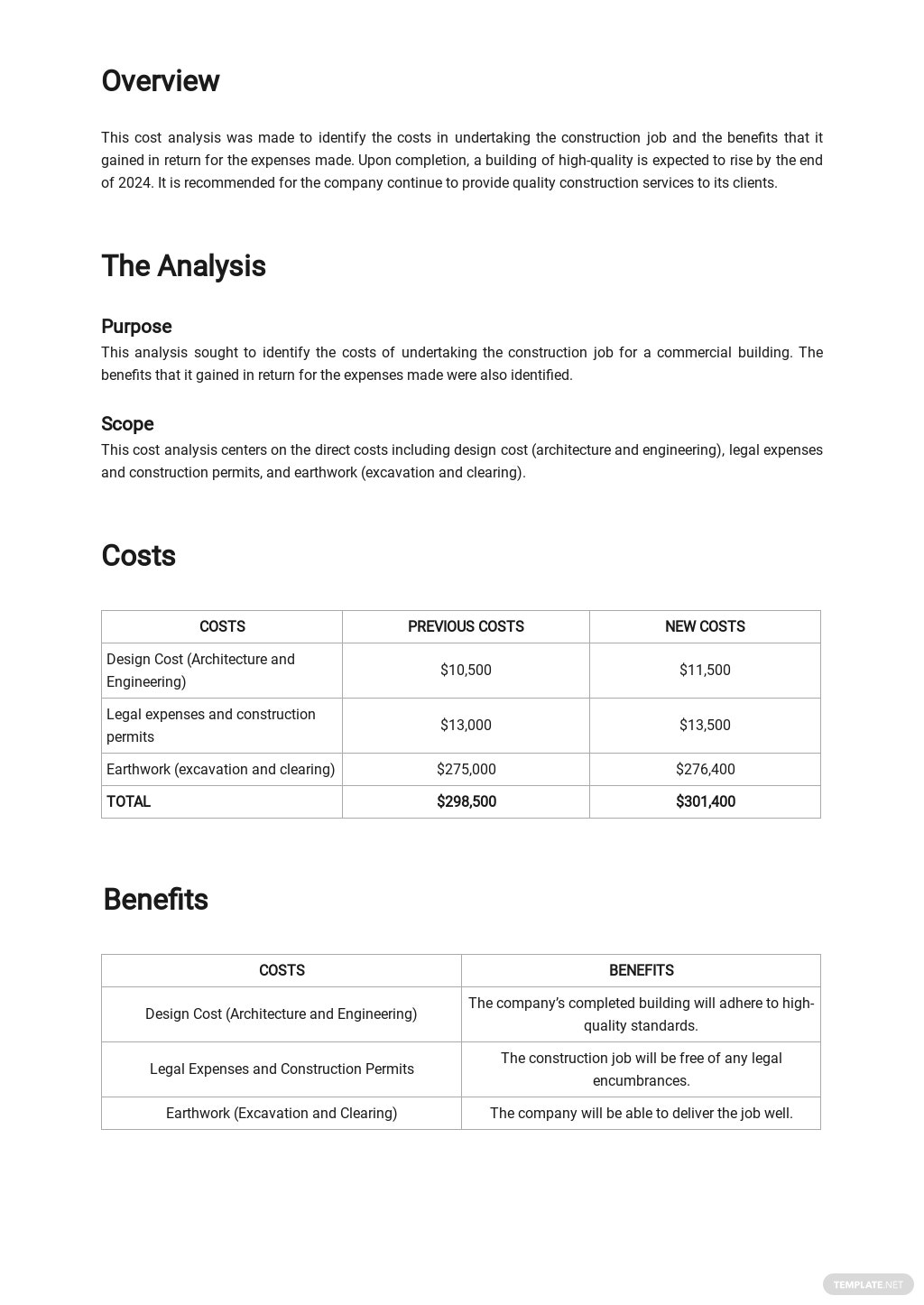 Construction Job Cost Analysis Template 1.jpe