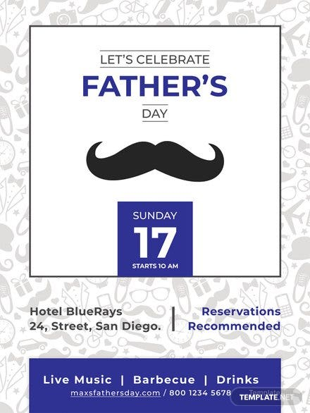 Free Father's Day Poster