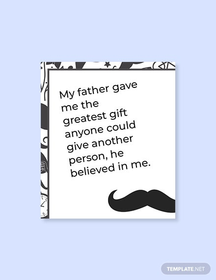 Free Father's Day Quote
