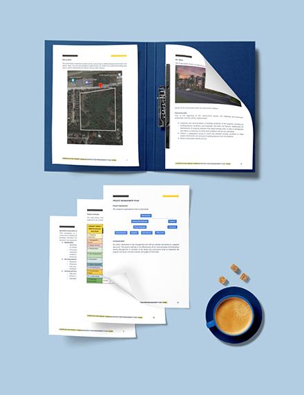 Sample Construction Quality Management Plan