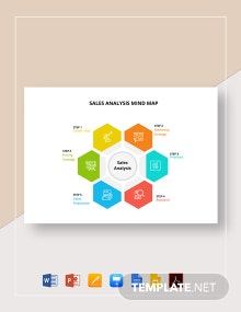 Sales Analysis Mind Map Template