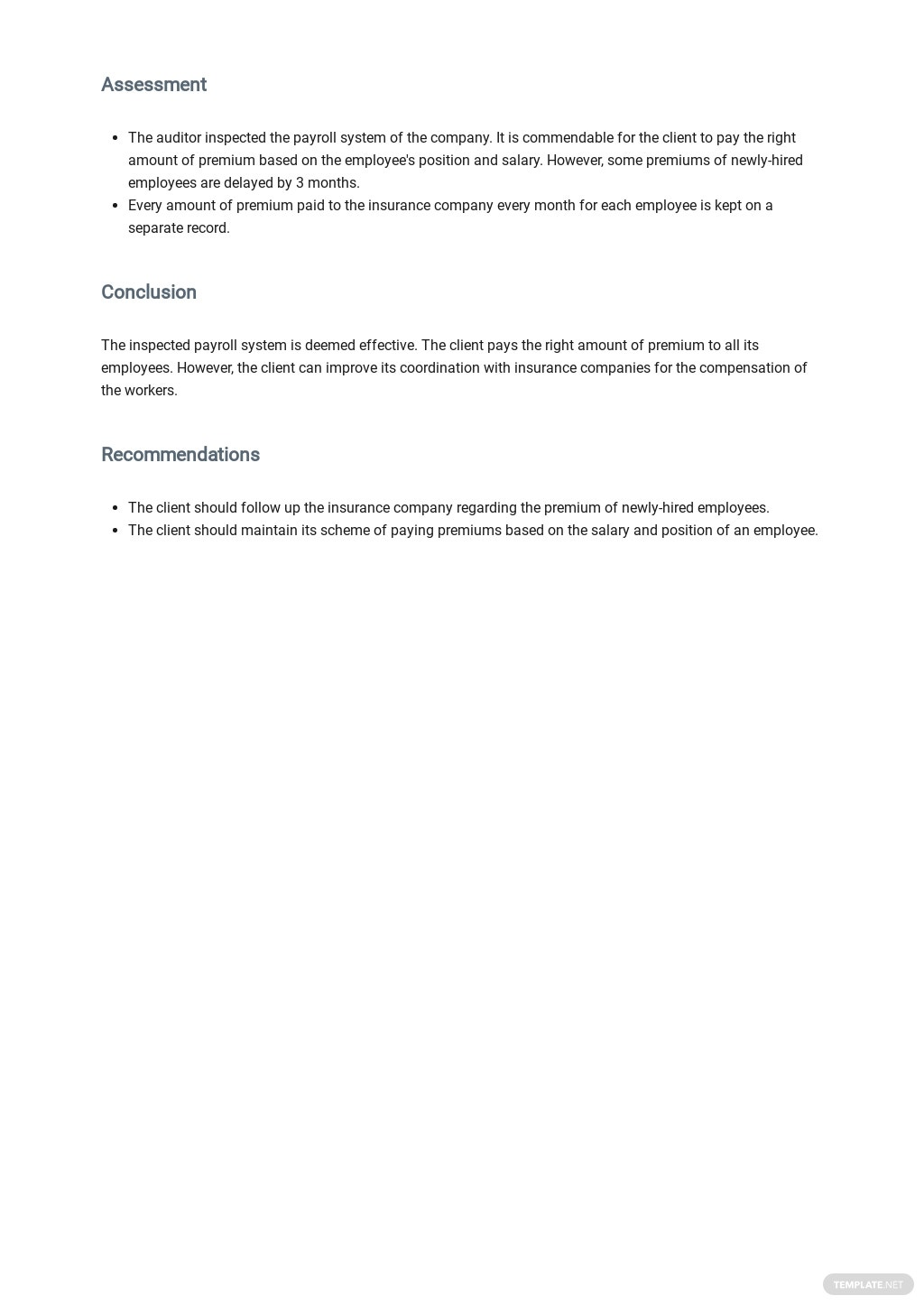 Workers' Compensation Audit Report Template 2.jpe