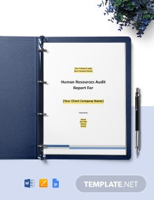 Workers' Compensation Audit Report Template