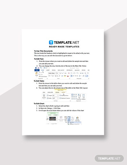 Sample Termination Budget Analysis Report