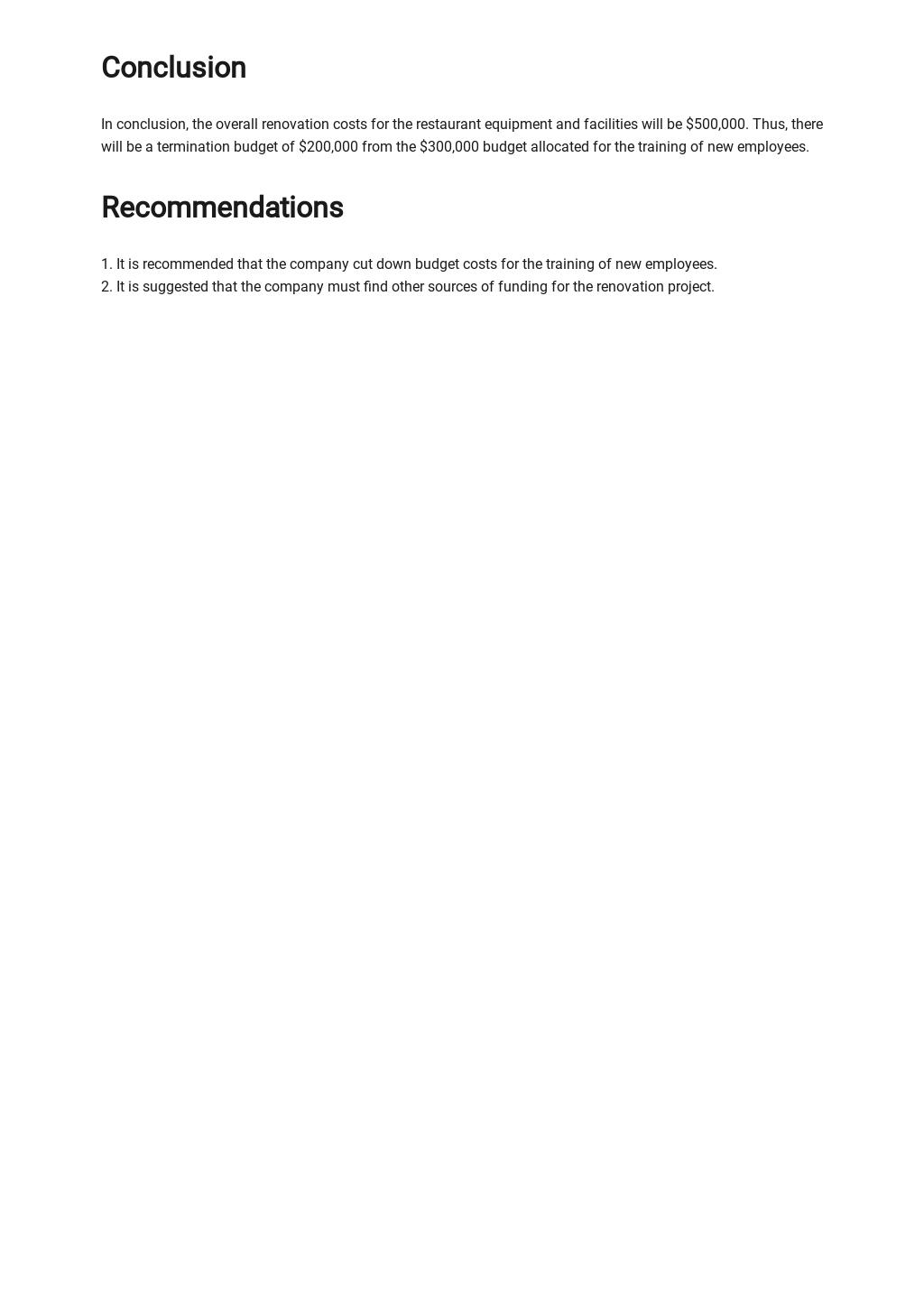 Termination Budget Analysis Report Template 4.jpe