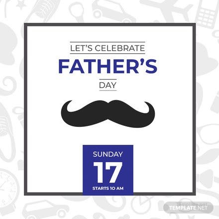 Free Father's Day YouTube Profile Photo