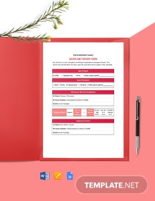 HR Complaint Report Template